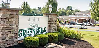Greenbriar sign
